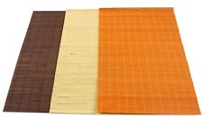 JAPANESE ORIENTAL SUSHI ROLL MAKER RICE ROLLING ROLLER MAT BAMBOO PLACEMAT