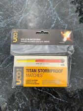 NEW UCO Titan Stormproof Matches 25-Pack w/2 Extra Strikers Windproof Waterproof