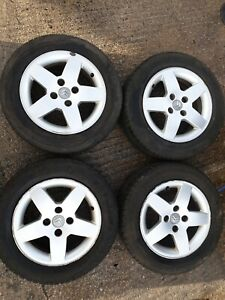 CITROEN BERLINGO 15  inch alloys & TYRES 185 65 15  /Fitting nuts included