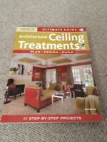 Neal Barrett ULTIMATE GUIDE TO ARCHITECTURAL CEILING TREATMENTS paperback 1st ed