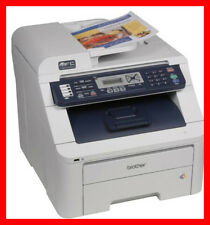 BROTHER MFC-9320CW Printer w/ NEW Toners & NEW Drums -- REFURBISHED !!!