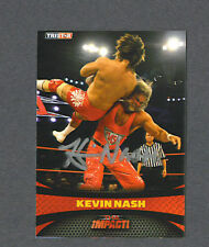 Kevin Nash signed 2009 Tri-Star Wrestling card