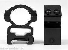 Hawke Ringmontage 25,4mm für Weaver Schiene hoch (22114)