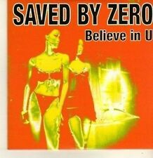 (CP332) Saved By Zero, Believe In U - 2008 DJ CD