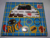80'S Vintage Greek Toy WIND UP Train LIMA TOYS CRICK MIB SEALED