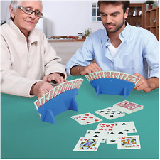 Playing Card Hands Free Holder Stand Arthritis Weak Grip Elderly Disabled Aid