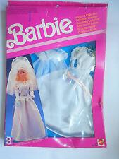 Vintage barbie dress BARBIE ABITI NOZZE  MATTEL 8289 - 1990