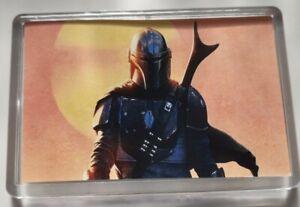 New Star Wars The Mandalorian Fridge Magnet 45mm x 70mm