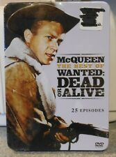 The Best of Wanted: Dead or Alive - 25 Episodes (DVD 2014 3-Disc) RARE TIN NEW