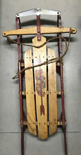 Vintage Flexible Flyer Sled No.41J With Super Steering Made In USA