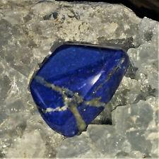 Lapislazuli in Königsblau mit Pyrit Edelsteine Königsstein Nr.7 Lapis  Reichtum