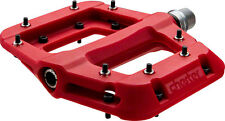 Race Face Chester Platform MTB Mountain Bike Pedals Red