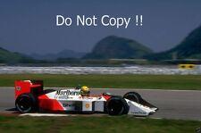 Ayrton Senna McLaren MP4/4 Brazilian Grand Prix 1988 Photograph 3