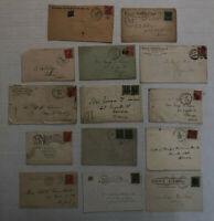 14 piece 1902 issue cover lot [y3991]
