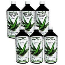 Aloe Vera Trink Gel von QueenRoyal 99.55 %, IASC Qualität, 6 Liter Pack, #30027