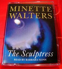 Minette Walters The Sculptress 2-Tape Audio Book Barbara Flynn Crime Thriller