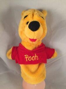 Disney Winnie the Pooh Hand Puppet Plush Mattel