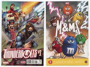 Thunderbolts #1 (NM/MT 9.8) 1st appearance Mach-X Avengers 2016 Marvel Comics