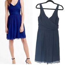 J. Crew Pleated Silk Heidi Dress Size Tall 4