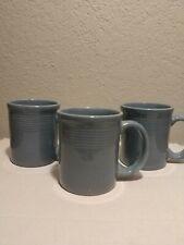 Gibson Coffee Mug - Blue Gray - Set Of 3