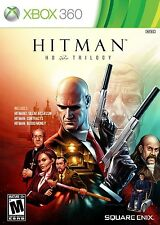 Hitman HD Trilogy [Xbox 360, NTSC, Silent Assassin, Contracts, Blood Money] NEW