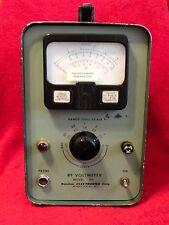 BOONTON ELECTRONICS CORP 91C RF VOLTMETER