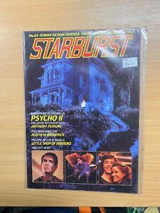 OCT 1983 STARBURST MAGAZINE #63 PSYCHO II ANTHONY PERKINS INTERVIEW (LL)