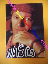CARTOLINA PROMOZIONALE POSTCARD VASCO ROSSI Rock 10x15cm no*cd dvd lp mc vhs