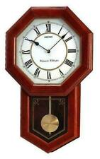 "Seiko ""School House"" Wall Clock QXH110B"
