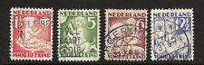 Netherlands 1930 - Children's stamps - Kinderzegels - seasons - used