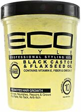 ECO Styler Black Castor - Flaxseed Oil Gel 32 oz