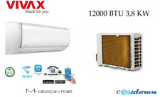 VIVAX Split Klimaanlage 3,81 KW  WIFI Klimagerät 12000 BTU R32 ECO Mode A++