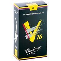 Vandoren Alto Sax V16 Reeds Strength 3 Box of 10