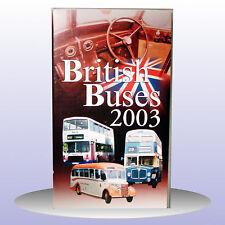 British Buses 2003 Bedford Fleetliners Atlanteans Transport Road - VHS PAL - NEW