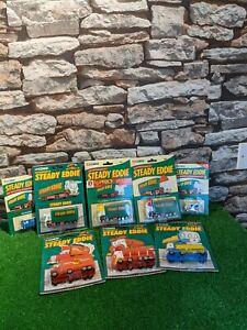 Corgi Steady Eddie Diecast Collection New On Card 8 Bundle Lot