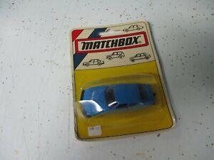 Matchbox Superfast Hungarian SF51 Citroen SM- blue, cracked bubble, blistercard