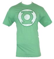 Green Lantern (DC Comics) Mens T-Shirt - Distressed Dotted Society Symbol