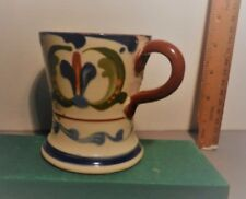Early 20th c Aller Vale Pottery Motto Ware Mug