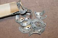 Pair of Original WW2 German Army Soldiers Boot Toe Plates from 1943 d. Package
