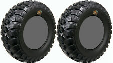 Pair 2 GBC Kanati Mongrel 27x9-14 ATV Tire Set 27x9x14 27-9-14