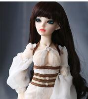 New Dress clothes Hair shoes For 1/4 BJD Doll Fairyland Minifee Siean elf