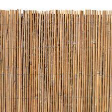 bambusmatte sichtschutzzaun sichtschutz 120 cm x 5 m bambus windschutz
