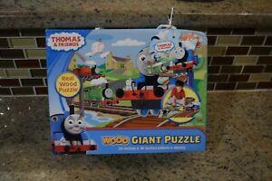 Thomas & Friends Thomas Wood Floor Puzzle  Box Beat Up