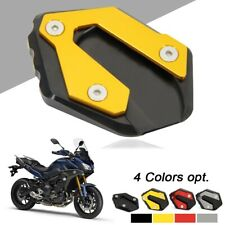 Motorcycle New Kickstand Side Kick Stand For Yamaha MT-09 Foot Extension Pad CNC