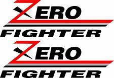 Mitsubishi Evo Evolution  2 3 4 5 6 7 8 9  decals stickers zero fighter Ralliart