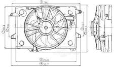 Global Parts Distributors 2811525 Radiator Fan Assembly