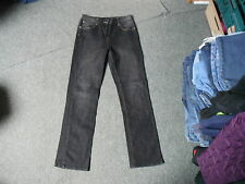 "Papaya Straight Size 12 Leg 31"" Black Faded Ladies Jeans"