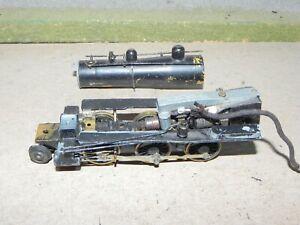 Mantua HO Parts 2-6-0 Vintage Diecast & Brass Mogul Steam Locomotive Repair