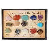 15pcs/Set Chakra Stones Natural Stone Reiki Healing Crystal Gemstones Collection