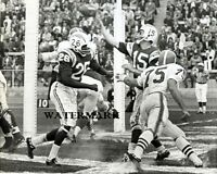 AFL San Diego Chargers QB Jack Kemp vs Houston Oilers Game Action  8 X 10 Photo